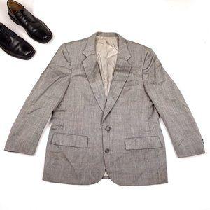 Christian Dior MONSIEUR Men's VTG Gray Blazer 42R